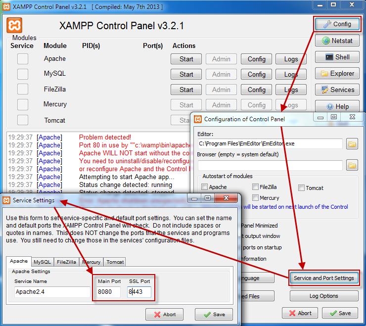apache проверить конфигурационный файл