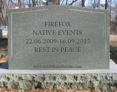 Прощайте, нативные события!