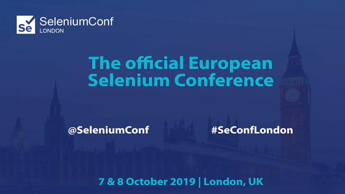 Опубликованы материалы конференции SeleniumConf London 2019